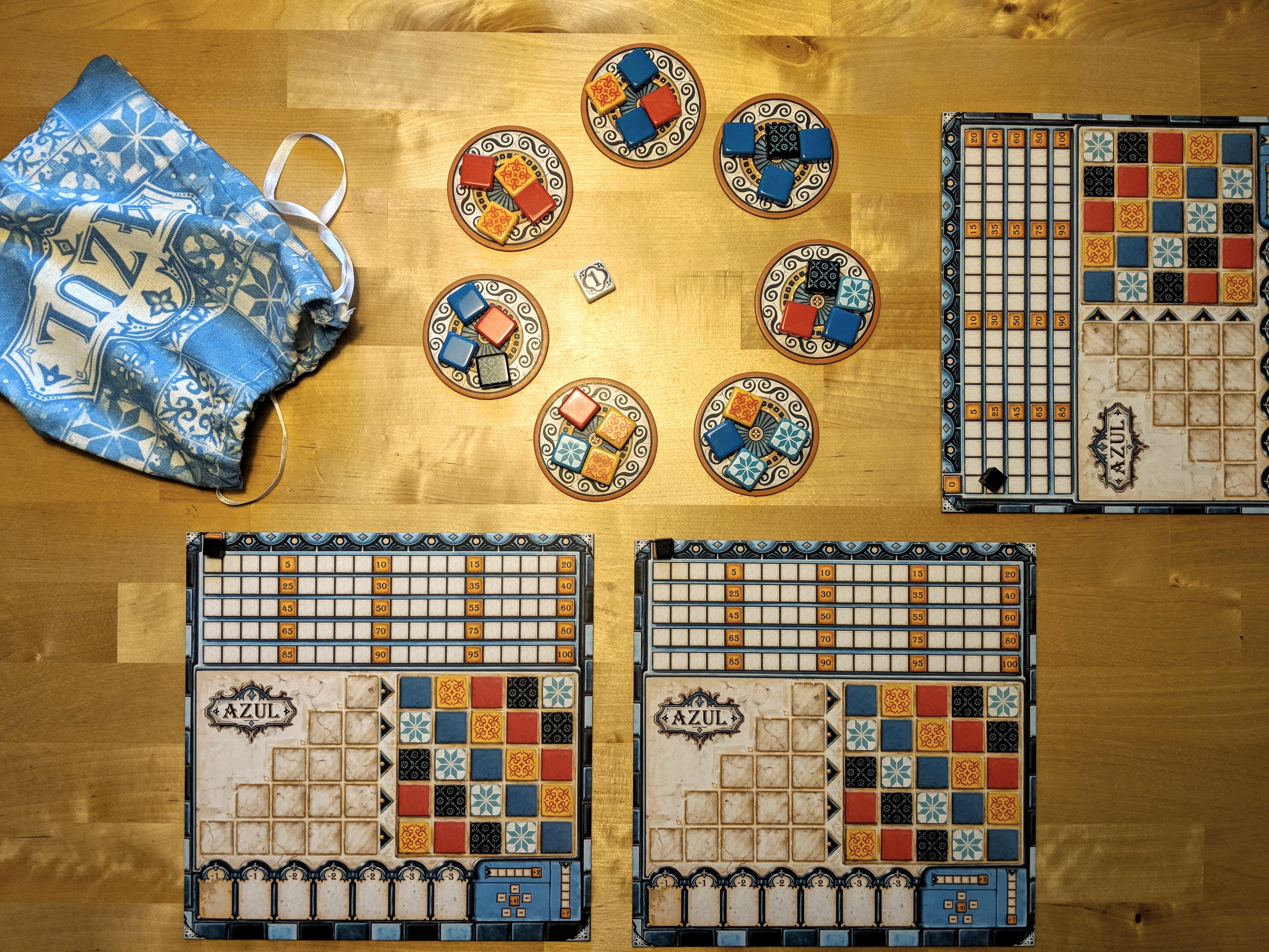Azul - Spielvorbereitung